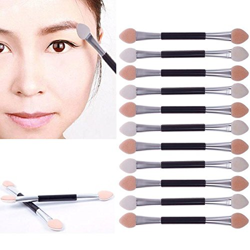 51Jxc4A  iL - JaneDream 12 X Double-end Eye Shadow Eyeliner Brush Makeup Applicator Kit for Girls