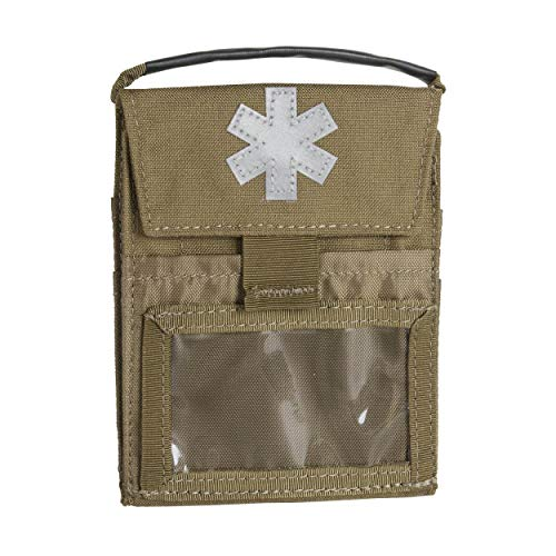 Helikon-Tex Pocket Med Insert Notfallset - Cordura - Coyote 2 Cd Pocket Kit