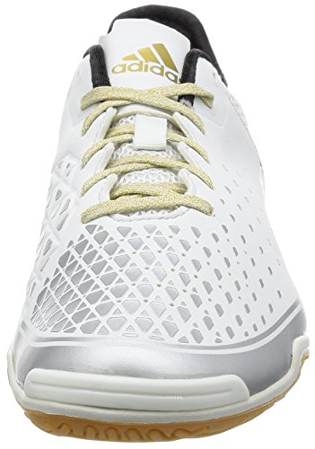 adidas Herren Ace 16.2 Court Fußball-Trainingsschuhe Multicolore (Crywht/Ngtmet/Goldmt)