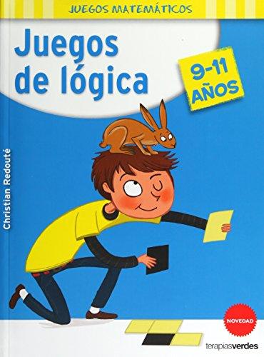 Juegos de lógica 9-11 años (Terapias Juegos Didácticos) por CHRISTIAN REDOUTÉ