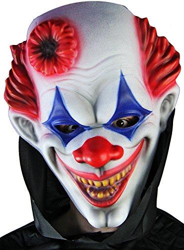 XXL Halloween Maske CLOWN Kostüm NIGHTMARE (Übergröße Clown Kostüm)