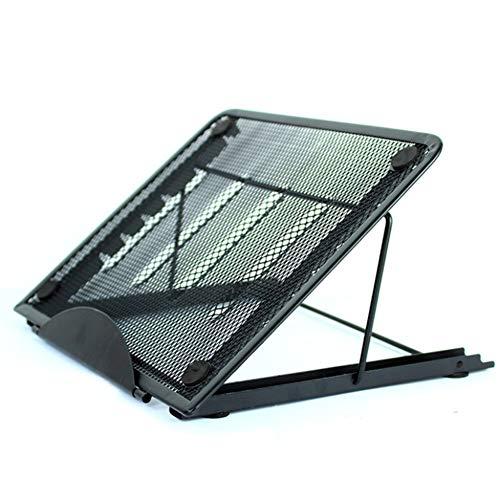 Laptop Notebook Ständer, Faltbarer Notebook Radiator Ständer, verstellbare Böschungshalterung Ständer Hilfe Computer Kühlung (Antislip Tippen)