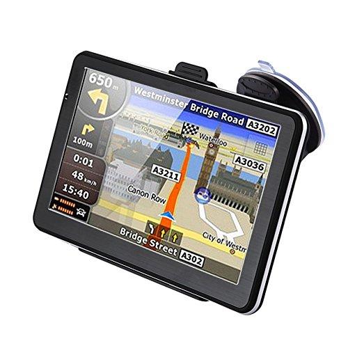 Ballylelly 710 7 pollici navigazione gps per camion auto 256m + 8gb schermo capacitivo navigatore fm retromarcia telecamera sensore tattile posizionamento preciso