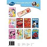 Disney - 11251 - Ameublement et DÃcoration - Plaid Polaire Motifs Personnages x1 - 9 Imprimes - 100x150 cm - Modèle aléatoire
