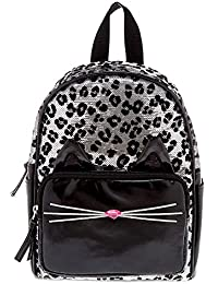 Claire's Fashion Backpacks for Kids, Back to School Rucksacks with Shoulder Straps, Assorted Styles and Colors