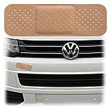 SHIRT-TO-GO Auto Pflaster Aufkleber für Lackkratzer und Dellen Smart Repair Folienaufkleber 20cm x 6,8cm