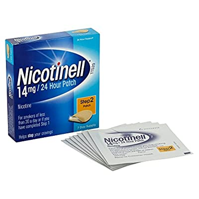 Nicotinell Nicotine Patch TTS10 7mg- Step 3 - 7 Days Supply