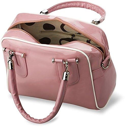 Borsa Da Città Di Moda Dipinta Borsa Città - Borsa Pochette Bowling Bag (rosa) Rosa