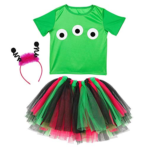 Widmann - Kinderkostüm Alien (Komplette Alien Kinder Kostüm)