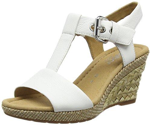 Gabor Karen, Sandales femme Blanc - White (50 weiss ba.st)
