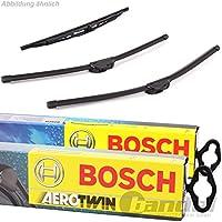 BOSCH AEROTWIN A863S VORNE + HECKWISCHER A282H