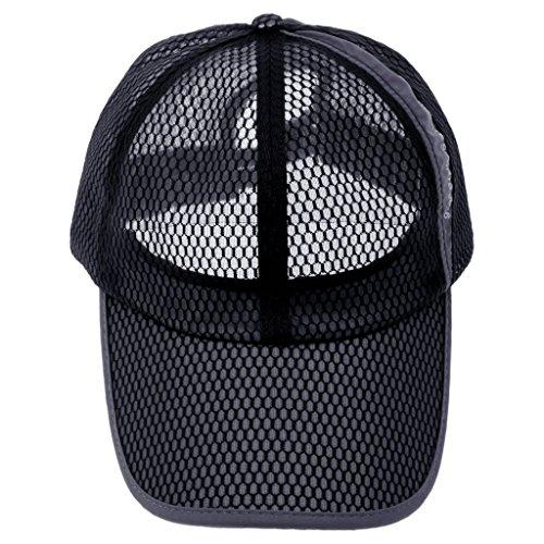 Chapeau Casquette De Baseball Cap Bonnet Maille Respirant Homme Femme Sport Mode d'été Occasionnel