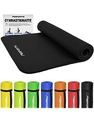Gymnastikmatte Premium inkl. Übungsposter   Hautfreundliche - Phthalatfreie Fitnessmatte - in verschiedenen Größen und Farben-sehr weich extra dick-190 x 60 x 1,5 cm oder 190 x 100 x 1,5 cm Yogamatte