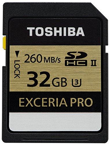 Toshiba 32 GB Exceria PRO memoria flash SDHC Classe 3 UHS