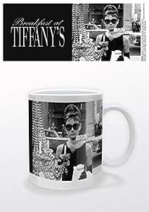 Audrey Hepburn Tasse À Café Mug - Vitrine De Tiffany (9 x 8 cm)