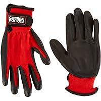 Grease Monkey 25553–26grande in schiuma di nitrile rivestito guanti, colore: nero/rosso