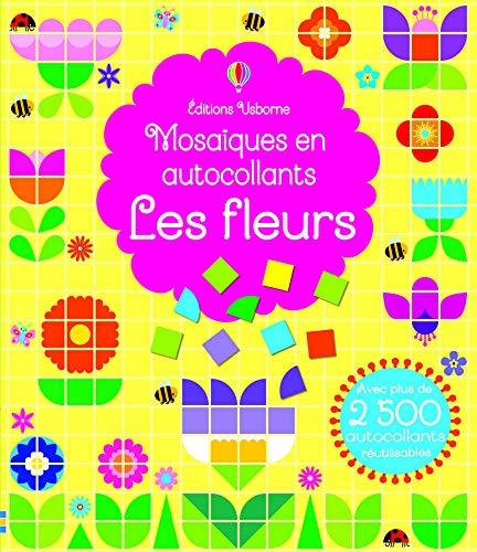 Les fleurs - Mosaïques en autocollants