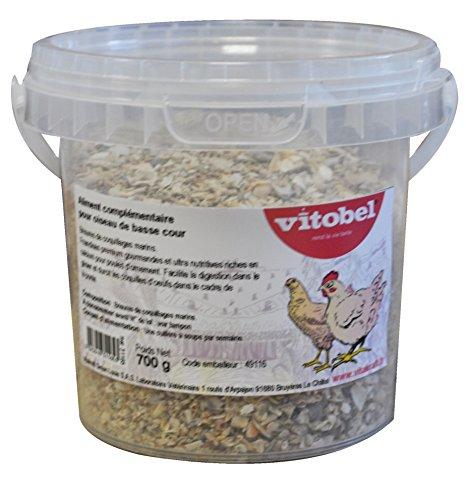 Vitakraft Nourriture Brisure de Coquillage pour Oiseau/Animal Sauvage 700 g - Lot de 6