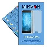6x Mikvon SuperClear Película de protección de pantalla para Lenovo P2 - transparente -...