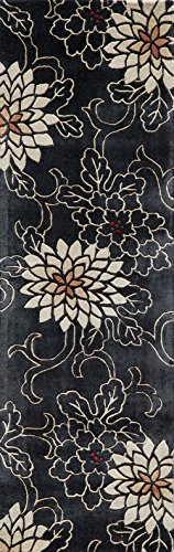 Momeni Rugs Koi Collection Übergangs-Teppich, 100% Wolle, handgetuftet Modern 2'6