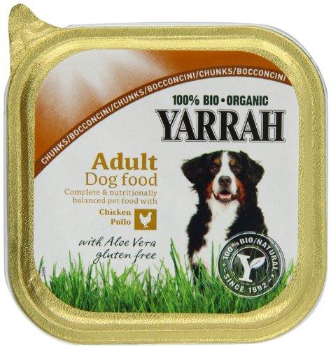 Yarrah Dog Food - Chicken Chunks With Aloe Vera 7 x 150g 1
