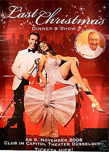 Last Christmas Dinner Show 2008 Konzert-Poster A1 -
