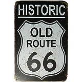 """Ipekoo histórica ruta 66Retro tin sign–12""""X 8"""", A"""