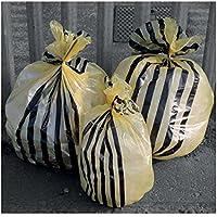Hanfare TSYB/2 Tiger Stripe - Bolsas de basura con diseño de rayas, color amarillo (20 L, 50 unidades)