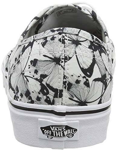 Vans Authentic, Sneaker Unisex – Adulto Bianco (Butterfly True White/Black)
