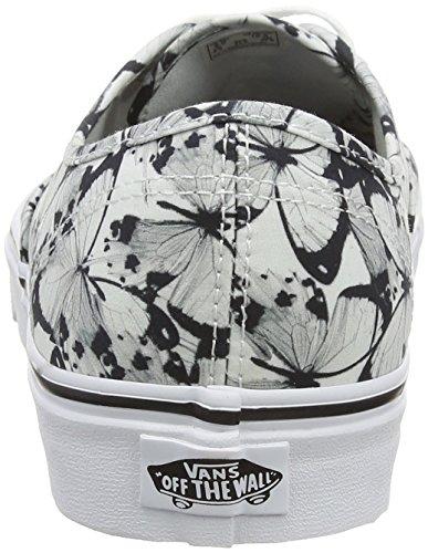 Vans Authentic, Sneaker Unisex – Adulto Bianco (Butterfly True White/Black)