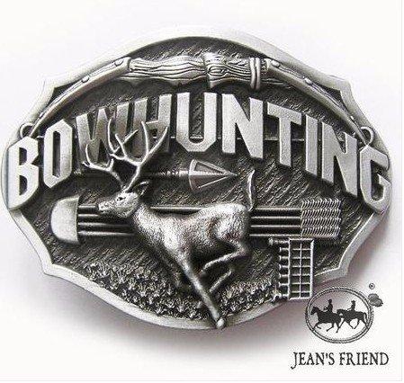 Buck-gürtelschnalle (western new Buckle belt cowboy gurtelschnallen Buck Jagd bowhunting)