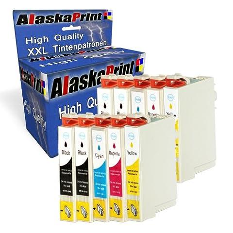 10x Druckerpatronen Kompatibel für Epson T1281xl T1281 xl für Epson