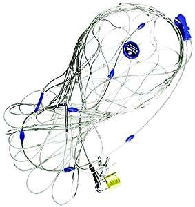 Pseacsafe 55L Anti-Diebstahl Rucksack- und Taschenschutz, Drahtkäfig Schutz-System mit Schloß für Rucksäcke, Reisegepäck, Diebstahlschutz, 22-55 Liter, Neutral
