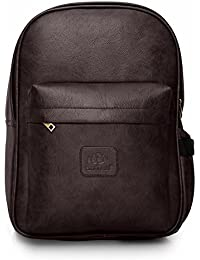 The Clownfish Synthetic 15.6 inch Laptop Bag/Travel Backpack/School Bag