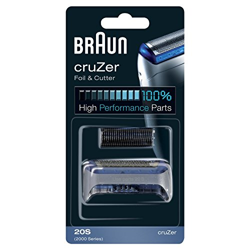 Braun cruzer foil cutter head pack for series 2000 electric shavers