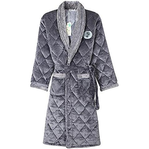 DSHUY Tre dimensioni ispessita autunno/inverno cotone flanella maschile camicia da