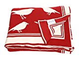 Pluchi Chirping Birds Red & Natural Knit...