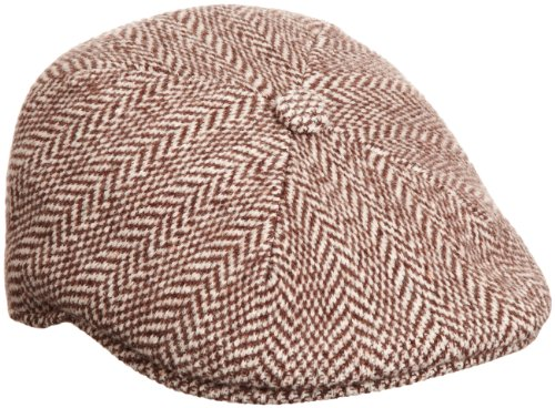 Kangol - Chapeau - Homme - Marron (Brown) - FR : L (Taille Fabricant : L)