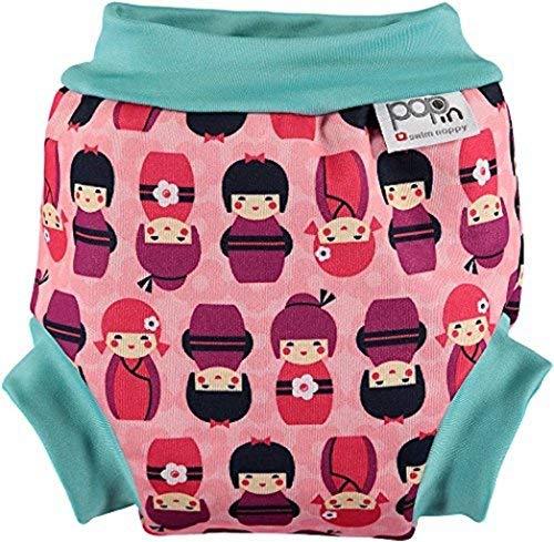 Pop en couches de bain (Petit, Kokeshi poupée)