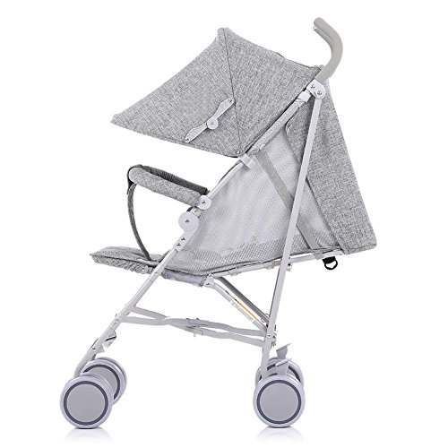 Folding einfach Baby Buggy Ultra Light Portable Outdoor Travel bequeme Baumwoll Hanf Kinderwagen , gray
