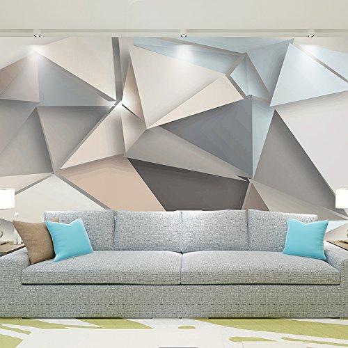 Wongxl Minimalistische Moderne Geometrische Tapete Des Hintergrundes 3D  Tapezieren Wand In Der Personalisierten Kreativen Wandmalerei Der ...