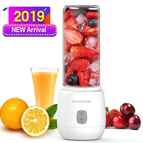 Entsafter Gemüse und Obst Hochleistung Mini Standmixer Glass USB Wiederaufladbar, Ideal für Smoothie Mixer, Saftmixer, Milkshake Mixer, Reise Mixer bestimmt