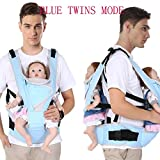 HMM-Baby Zwillinge Schlinge Multifunktions Einzel-und Doppel-Taille Hocker Doppel-Hocker Riemen