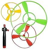 diverse 12 XXL Flugkreisel Propeller Hubschrauber 10,12 &18 cm Set fliegendes UFO Flieger