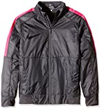 Nike Jungen Jacke GPX Woven Lightweight, Dark Grey/Hyper Pink/Black, M