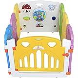 Sungle Parque de bebé con el juguete integrado y volante eléctrico (S 8 piezas)