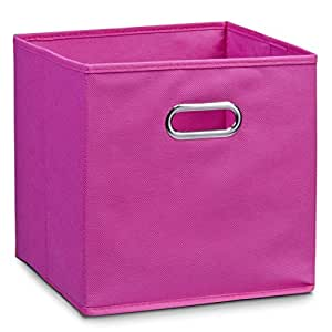 schrankkorb regalkorb stoffbox vlies in pink 32x32x32cm. Black Bedroom Furniture Sets. Home Design Ideas