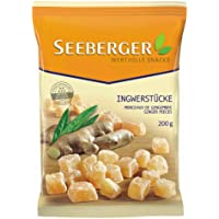 Seeberger Ingwer-Stücke, 4er Pack (4 x 200 g Packung)