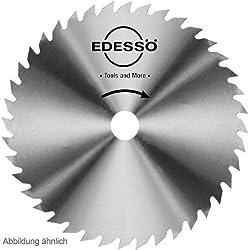 Edessö 60060030 VS-lame de scie circulaire acier chromé-norme, Gris, ∅ 600 mm, Denture: 56