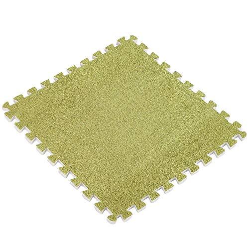 TAOtTAO 30 * 30 cm Enfants Tapis Tapis de Puzzle en Mousse EVA Ant en Velours bébé Eco Sol 8 Couleurs, G, 30 * 30cm(11.8 * 11.8inch)